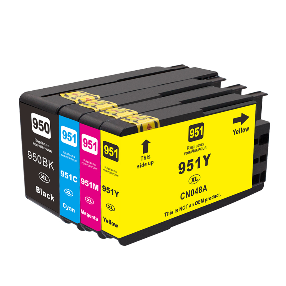 HP SET 950XL Black, 951XL Cyan+Magenta+Yellow