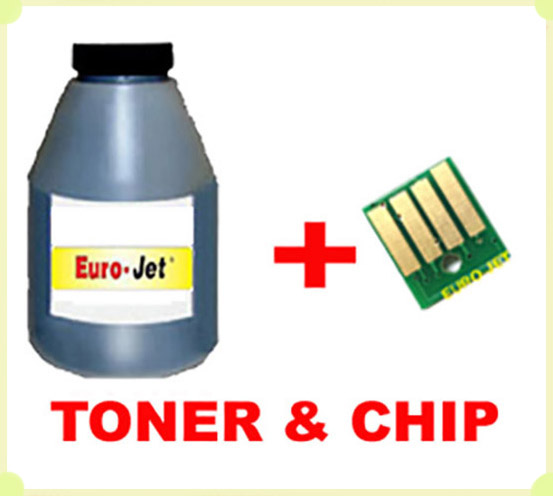 TONER in BOTTLE & CHIP XEROX Phaser 3250
