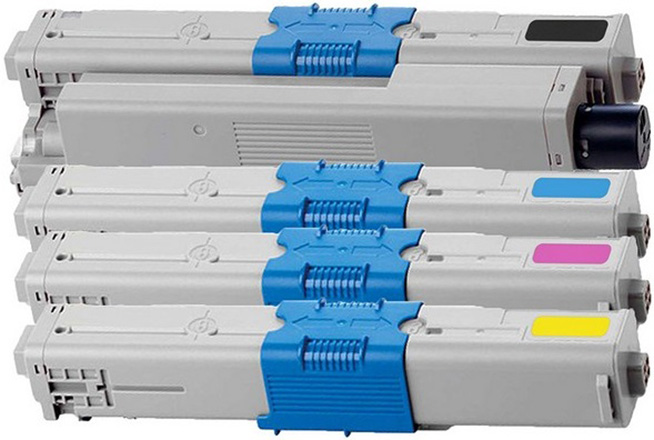 ΣΥΜΒΑΤA toner OKI  MULTIPACK C332/MC363 BLACK + CYAN + MAGENTA + YELLOW