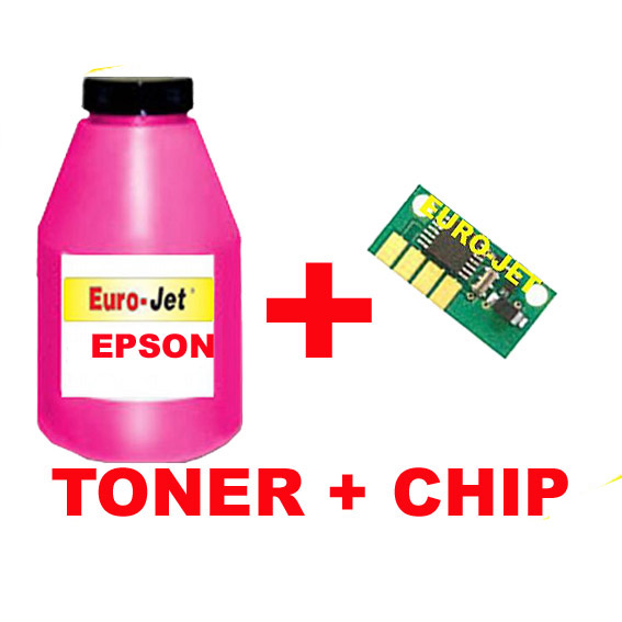 ΣΥΜΒΑΤΟ TONER MAGENTA BOTTLES + CHIP RICOH SP C250