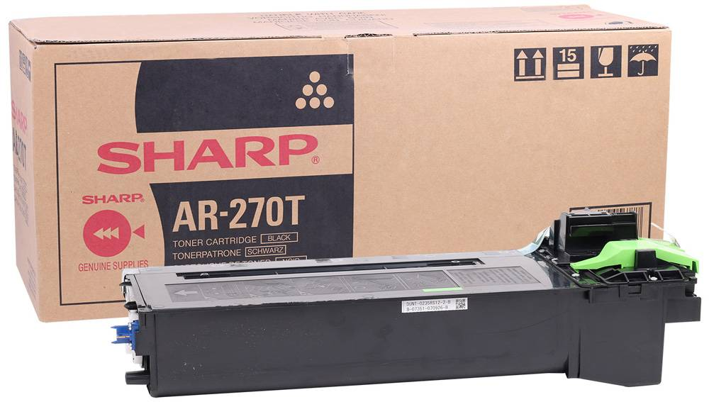 SHARP AR-270T BLACK TONER Original