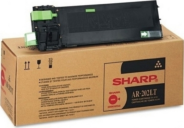 SHARP AR-202LT BLACK TONER, AR 163, 160, 165, 205, 206, 207,  Original