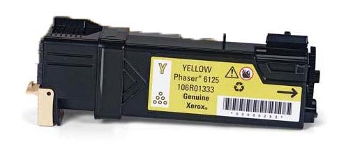 ΣΥΜΒΑΤΟ XEROX TONER PHASER 6125 YELLOW 106R1333